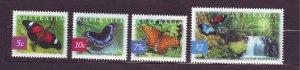 J23777 JLstamps 2004 australia set mnh #2235-8 butterflies
