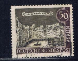 Germany-Berlin  9N202 Used 1962 Issue