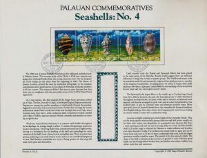 Palau 195a on Souvenir Page - Seashells