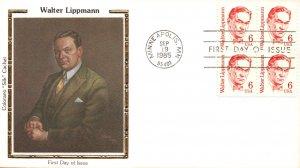 US 1849 Walter Lippmann Colorano U/A FDC