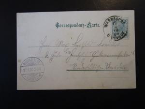 Austria 1900 Postcard / Warnsdorf CDS - Z5029