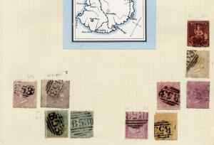 Mauritius Collection earlies to modern - high value. BARGAIN see scans
