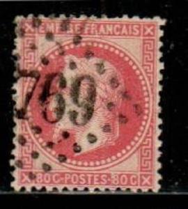 France Scott 36 Used (Catalog Value $24.00)