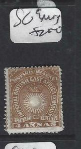 BRITISH EAST AFRICA   (P0105B)  ARMS  4A  SG 9    MOG