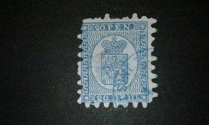 Finland #9 used type III e204 8602