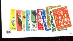 NETHERLANDS #B353-362 MINT FVF OG NH Cat $13