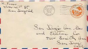 United States, Airmail, Postal Stationery, Idaho