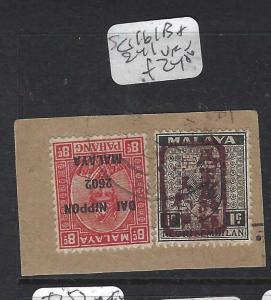MALAYA JAPANESE OCCUPATION NS+PAHANG (P0905B) SG J161B+241 PIECE  VFU