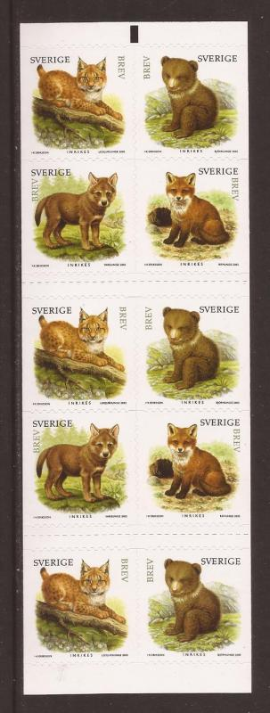 Sweden scott #2518 cmplt bklt m/nh stock #35436