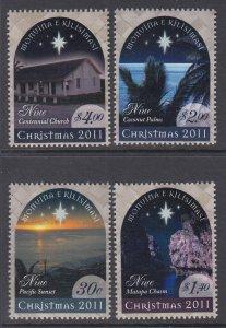 Niue 868-871 Christmas MNH VF