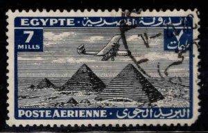 Egypt Scott C12  Used Airmail stamp