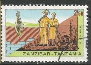 ZANZIBAR, 1967, used 2.50sh, Volunteer (Young) Workers, Scott 357