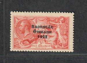 Ireland Sc#78b M/NH/F-VF, Seahorse, Cv. $225