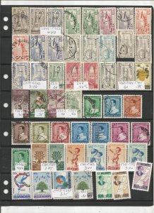 LEBANON COLLECTION ON STOCK SHEET, MINT/USED