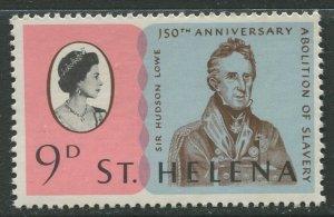 STAMP STATION PERTH St Helena #206 Abolition of Slavery 1968 MNH