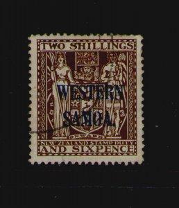 Samoa 1955 Sc 216 FU