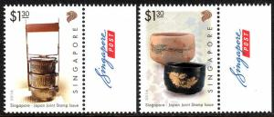 Singapore 1812-1813, MNH. Singapore - Japan Joint Issue, 2016