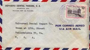 Panama, Airmail