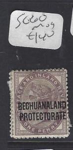 BECHUANALAND (P1910B)  QV  ON GB  1D   SG 61   MOG