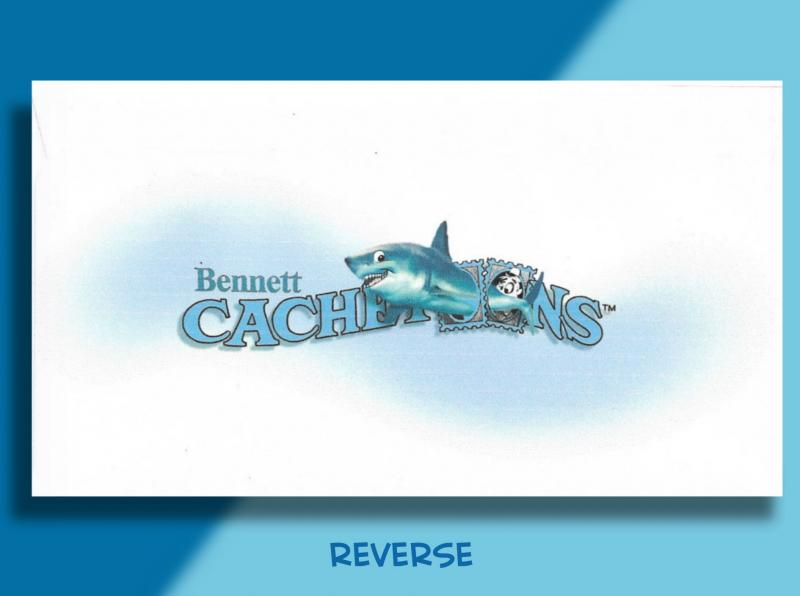 Bennett Cachetoons FDC for 2017 SHARKS!  . . in Kentucky, of all places!