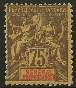 Senegal (1892)  - Scott # 51,  MH