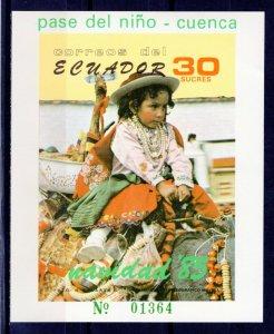 ECUADOR -  1985 Christmas  M2328