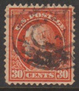 U.S. Scott #420 Franklin Stamp - Used Single