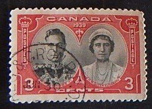 Canada, 1939, Royal Visit, SC #248, (2039-T)