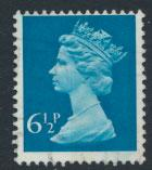 GB Machin 6½p  SG X872  Scott MH60 Used   please read details