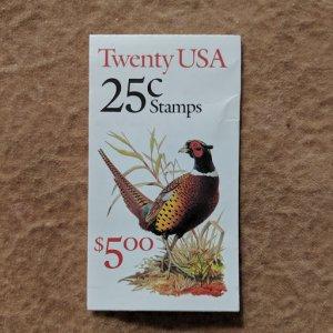 U.S. Booklet Bk158, CV $15