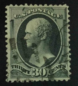 MOMEN: US STAMPS #165 USED LOT #55363
