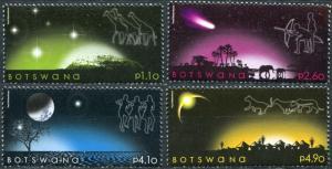 Botswana. 2009. Sky at Night (MNH OG) Set of 4 stamps
