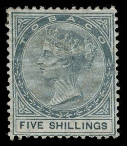 Tobago Scott 5 Gibbons 5 Mint Stamp