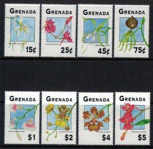 Grenada #2337-44* NH  CV $11.50  Orchids