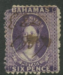 STAMP STATION PERTH Bahamas #14 QV Definitive Wmk.1 Perf.12.5  Used CV$85.00