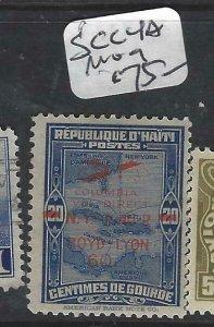 HAITI  (P1606B)    SC C4A   SCARCE   MOG