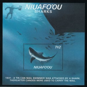 Tonga Niuafo'ou Scott 89 MNH! Souvenir Sheet!