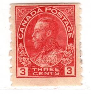 $ Canada Scott #130 mint, hinged, fine