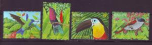 J20458 lstamps 2003  france set mnh #2936-9 birds