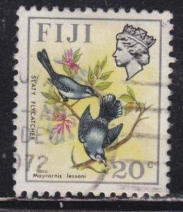 Fiji 314 Slaty Flycatchers 1972