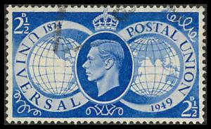 Great Britain 276 Used VF