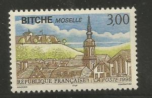 FRANCE  2529  MNH,  BITCHE, MOSELLE