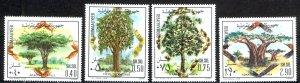 Somalia Sc# 459-462 MNH 1978 Trees