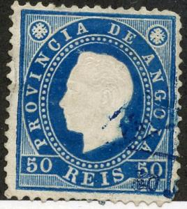 Angola, Scott #21, Used