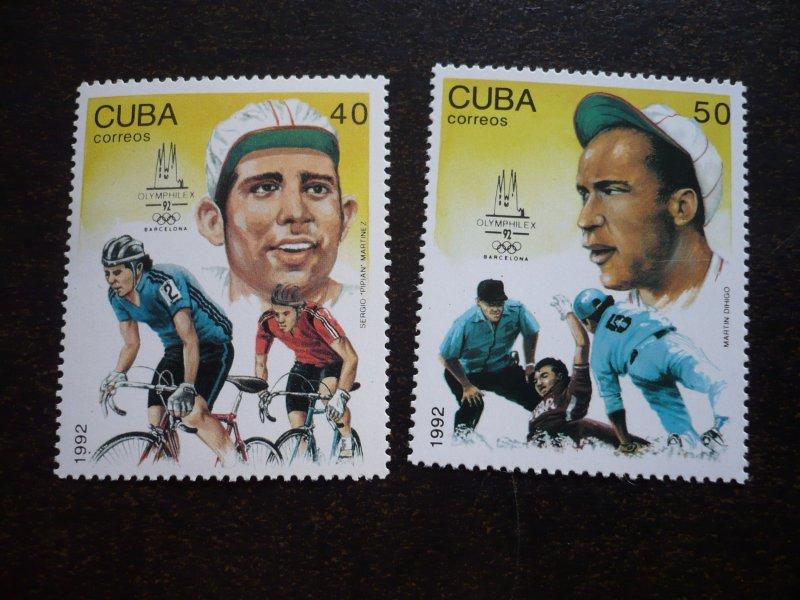 Stamps - Cuba - Scott# 3437-3440 - MNH Set of 4 stamps