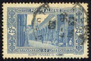 Algeria Sc# 102 Used (a) 1936-1941 2.25fr Scenes