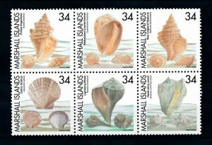 [99439] Marshall Islands 2002 Marine Life Sea shells  MNH
