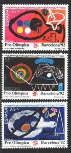 Spain. 1991. 3008-10. Barcelona Summer Olympics. MNH.