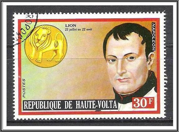 Upper Volta #315 Famous Men & Zodiac CTO