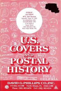 Phillips: Sale # 75  -  U.S. Covers and Postal History, P...